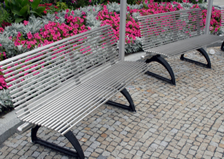 Collierville, TN Stainless Steel Benches
